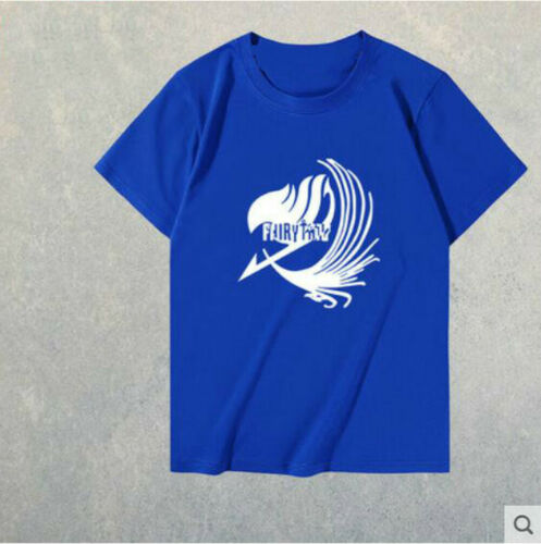 Anime fairy tail t-shirt top men/'s multi-color short sleeve free shipping