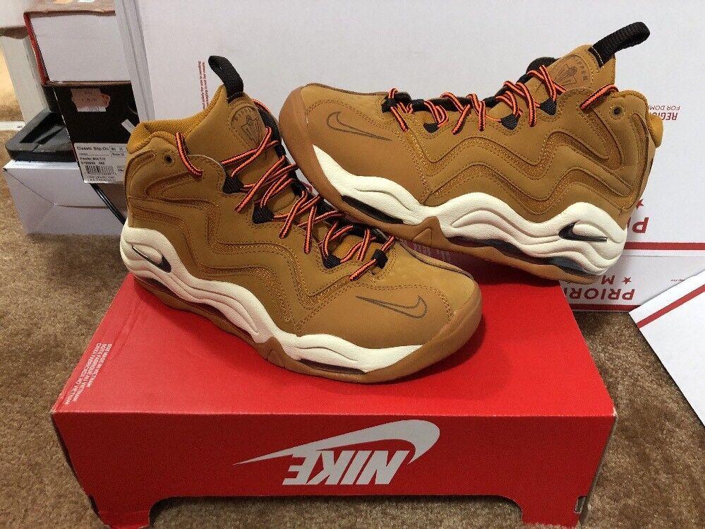 New Nike Air Brown Pippen Desert Ochre Velvet Brown Air Flax Wheat Size 8.5 325001-700 7339d1