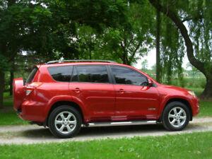 2010 RAV4 Limited. 129,600 km. Loaded: keyless entry/start, back