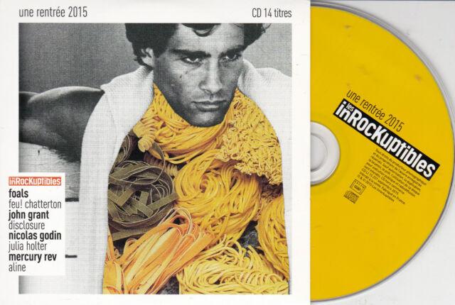 CD CARDSLEEVE 15T INNA MODJA/FOALS/JOHN GRANT/MERCURY REV/DISCLOSURE/GODIN/PEREZ