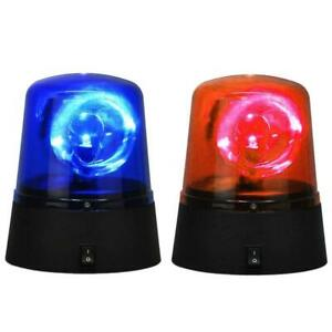 Battery-Operated-RED-LED-Beacon-Safety-Flashing-Light-Warning-Magnetic-Mount