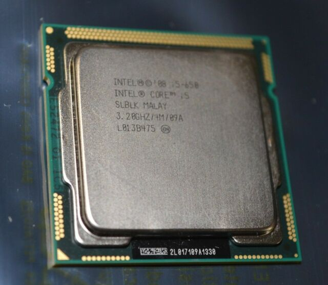 Intel Core i5 650 - 3.2 GHz Dual-Core s.1156 UNBOXED CPU ONLY