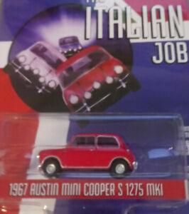 Greenlight Itaien Job 1967 Austin Mini Coopers S 1275 MKI 1/64