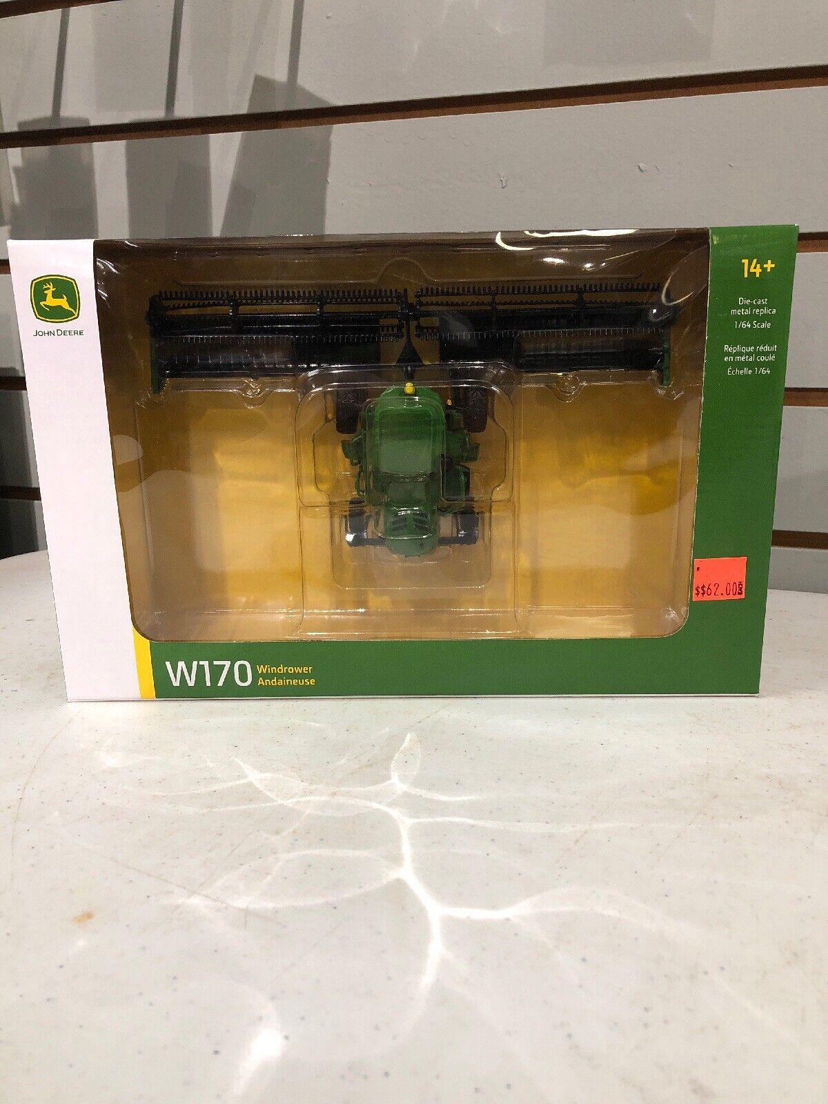 1 64 John Deere W170 Windrower By Speccast