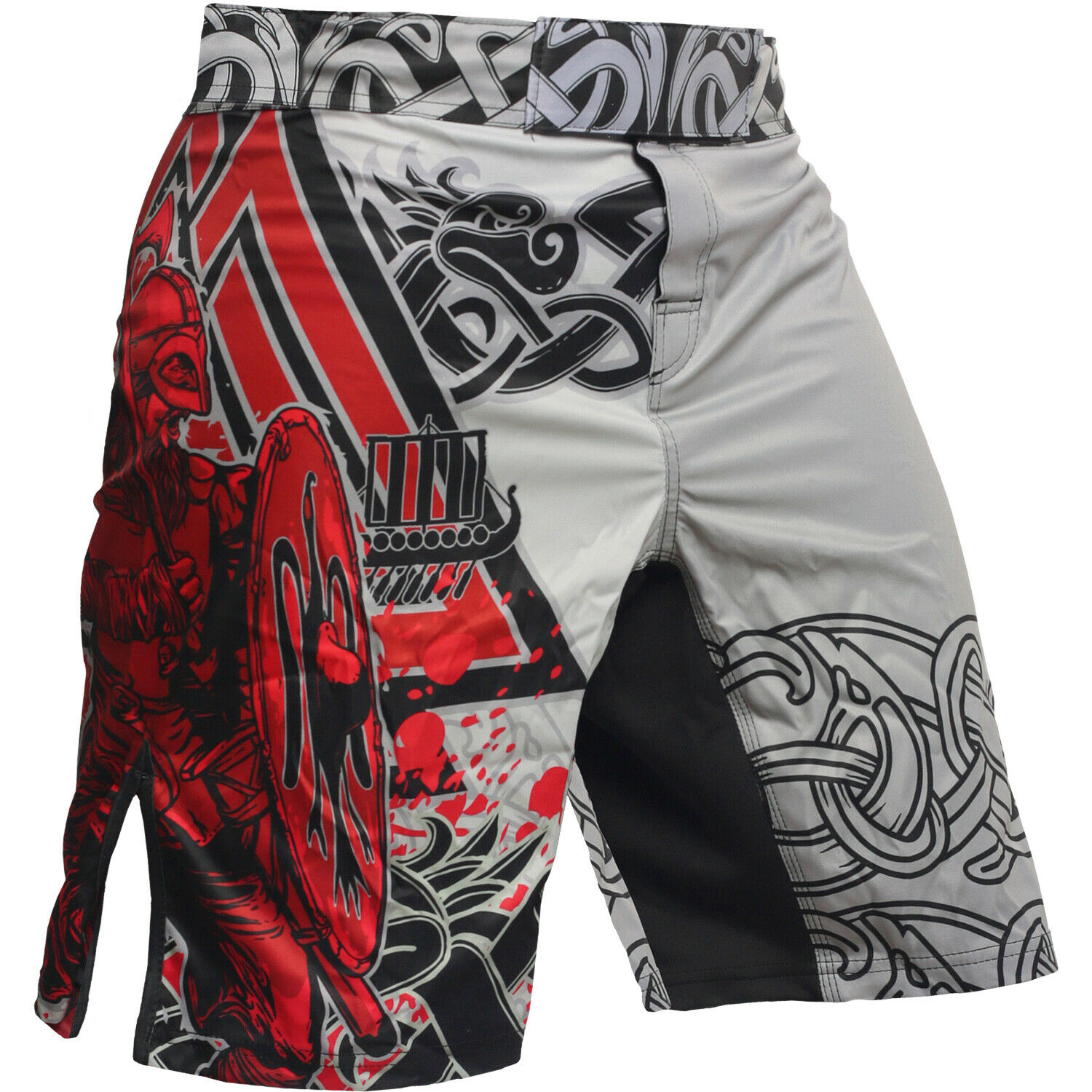 Fight Shorts Men's HCT Viking 2.0  MMA BJJ UFC Crossfit Sports Gym Active No-Gi  we take customers as our god