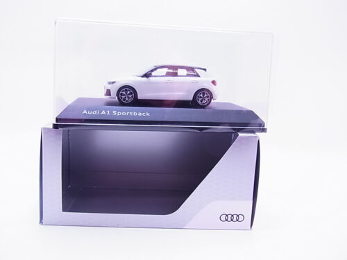 65652 iScale Audi A1 Sportback Typ GB ab 2018 weiss Modellauto 1:43 NEU in OVP