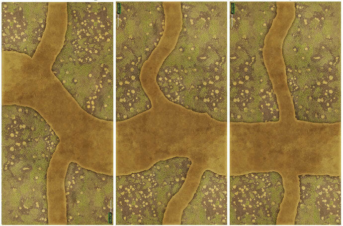 Flames of War  Mekong River Mat Mat Mat FW903A d4e461