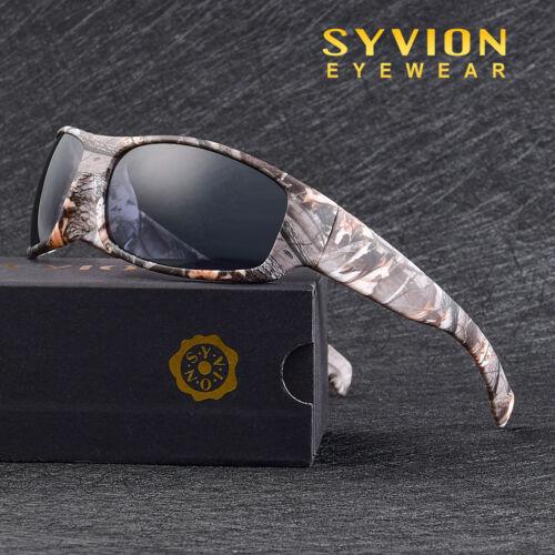 Homme Polarisé Cyclisme Lunettes Lunettes de conduite pêche TR90 Sports Sunglasse V2