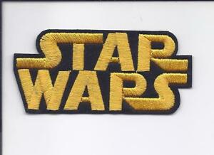 """Star Wars movie logo embroidered iron on patch 4/"""""""
