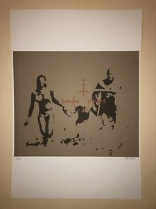 Banksy-litho-50x35-signature-in-pencil-painter-stamp