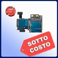 Flex LT (FLAT) Galaxy S4 i9505 lettore SIM+ Micro SD Memory card Per Samsung S 4