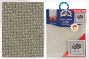 DC27L-M per pack DMC Linen 14 HPI Aida Cross Stitch Fabric