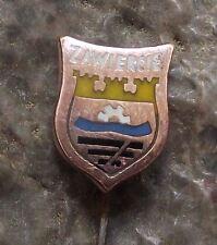 Zawiercie Silesia Polish Poland Heraldic Crest Shield Coat of Arms Pin Badge