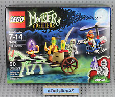 LEGO Monster Fighters - 9462 The Mummy NISB Ghost Glow Dark Horse Minifigure