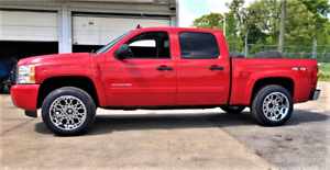 Painted-07-13-Silverado-1500-OE-Style-Fender-Flares-Short-Bed-69-3-5-8-ft