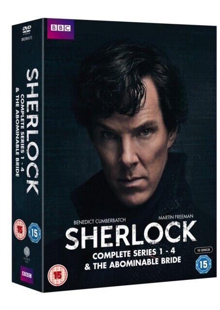 Neuf Sherlock (BBC) Série 1 Pour 4 / The Abominable Mariée DVD