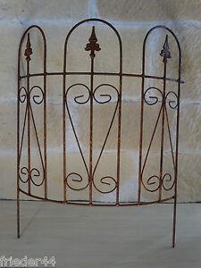 beetzaun rund beeteinfassung 136807 rasenkante beetbegrenzung zaun eisen metall. Black Bedroom Furniture Sets. Home Design Ideas