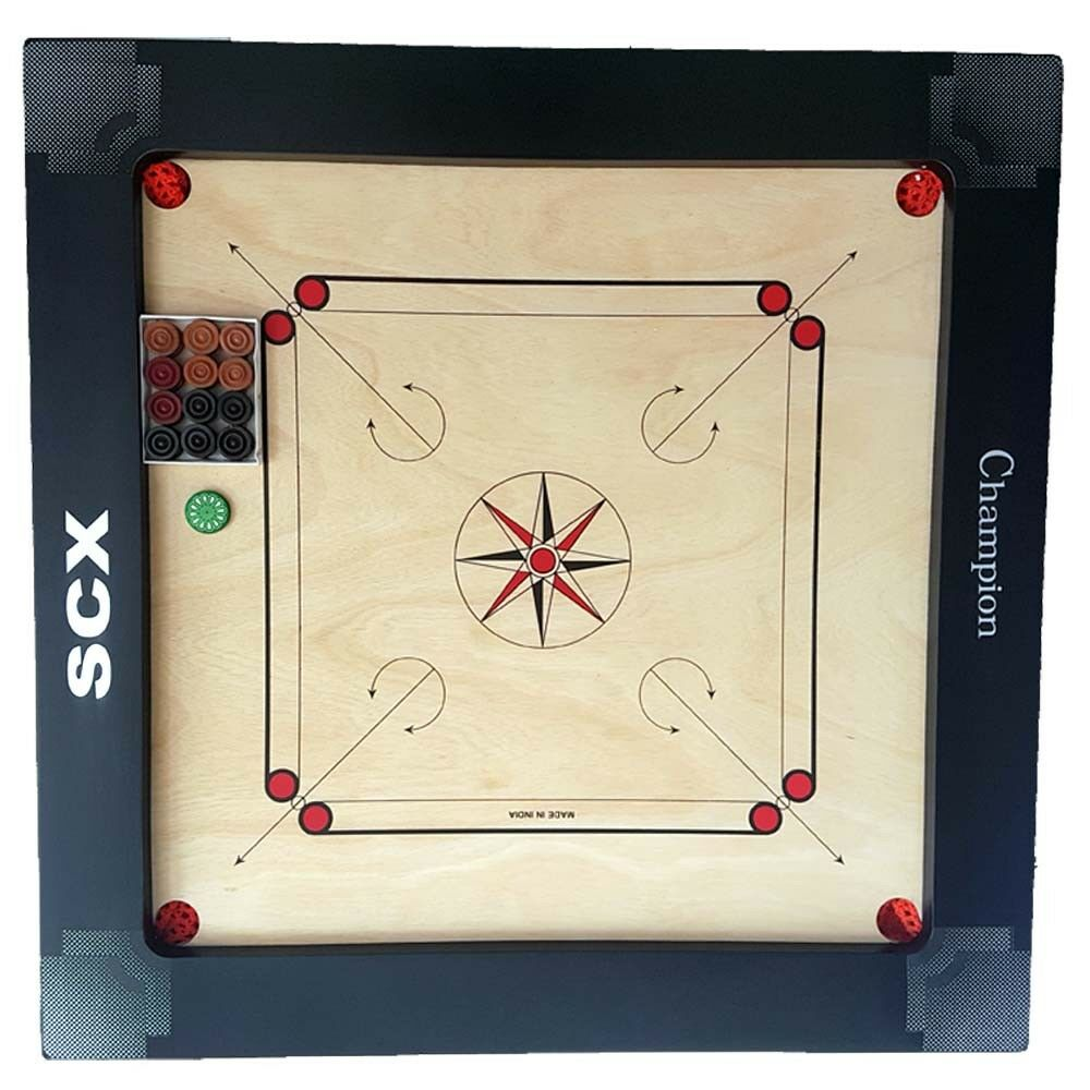 PRO CARROM BOARD GAME GAME GAME CHAMPION 12MM FULL SIZE BEST BIRTHDAY GIFT FOR WIFE 2149e8