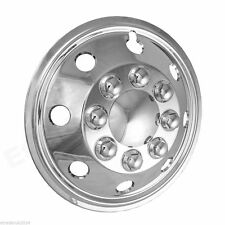 "Two 2x Fiat Ducato Motorhome 15"" Chrome Wheel Trims American Style Hub Cap x2"