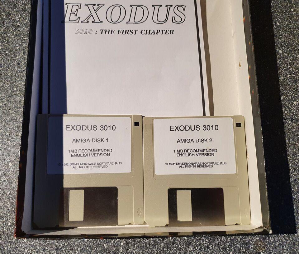 ** SOLGT ** Exodus 3010, Amiga
