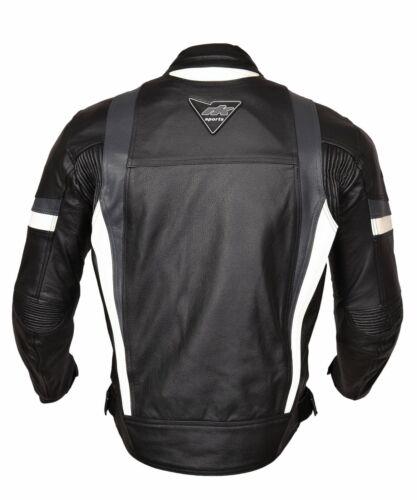 Biker Moto Rksports Blindato Uomo Giacca In Pelle Velocità 7 qwnB6n1z