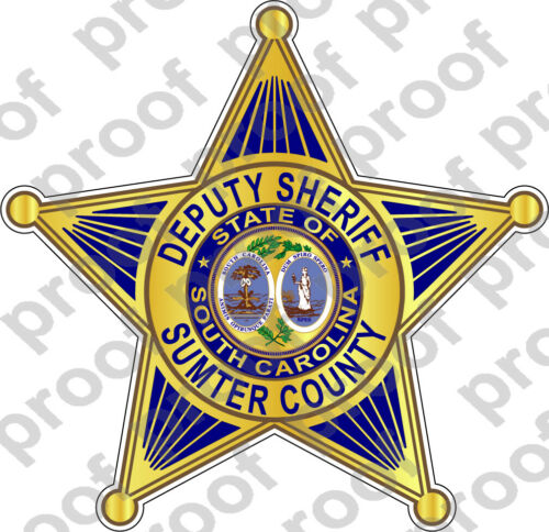 STICKER SHERIFF SUMTER SC