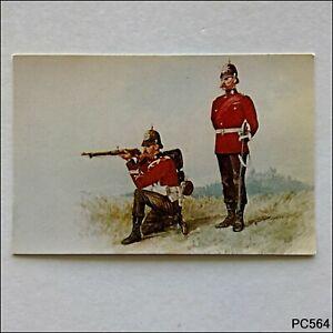 R-Simkin-Officer-and-private-1st-Battalion-Royal-Sussex-Regiment-Postcard-P564