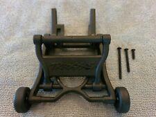 Traxxas Aluminum Wheelie Bar Wheels /& Rubber Tires Stampede Bandit Rustler VXL X