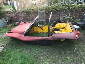 1955 volkswagen SWB GP beach buggy project oval banded steels hot rod v5