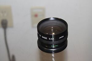 Spiratone-Video-Wide-Angle-0-5x-Hi-Res-AF-Camera-Lens
