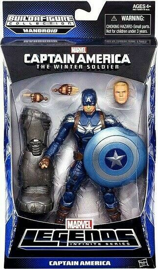 Captain America Marvel Legends Captain America Figure 6 Inches For Sale Online Ebay
