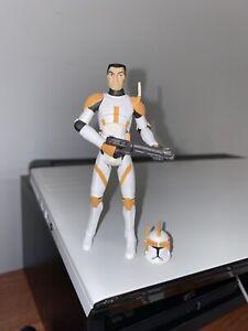 commander cody phase i star wars the clone wars 3.75in. | ebay