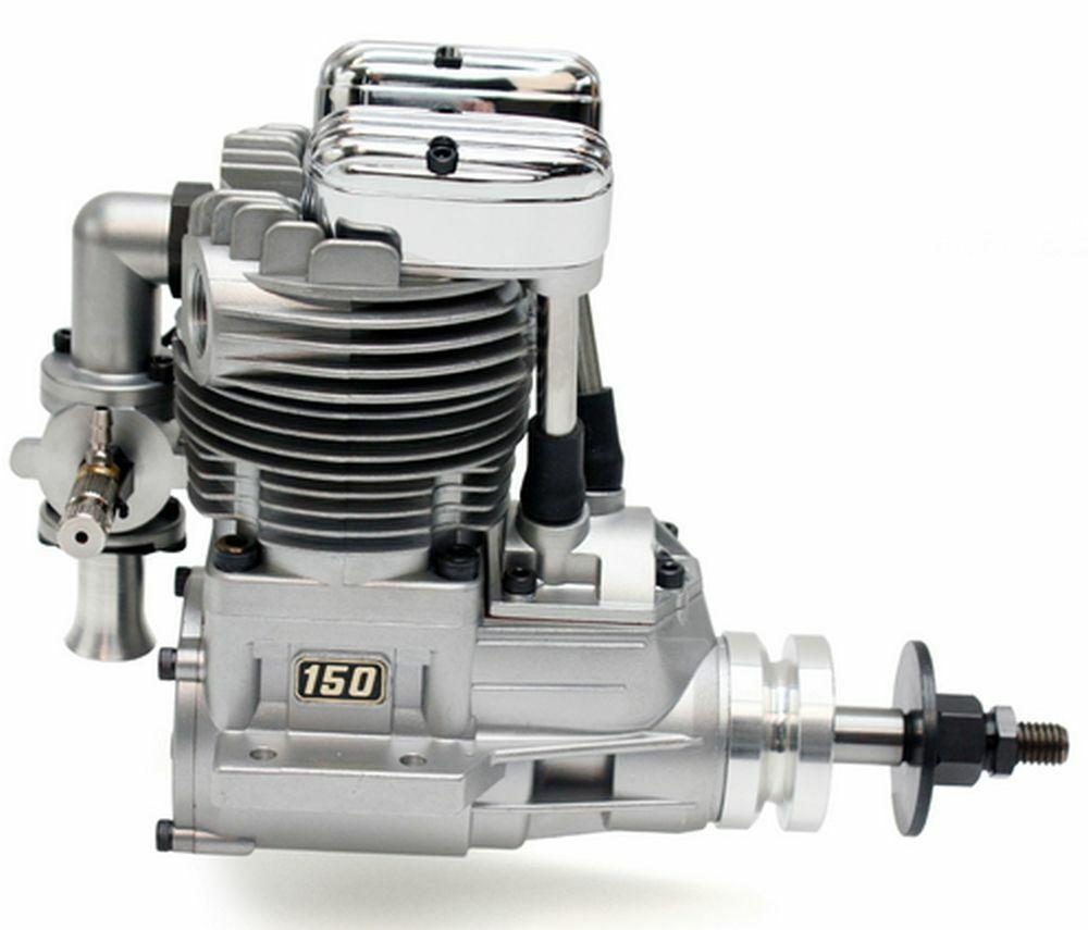 RCプレーンのための斎藤FA - 150 B 4ストロークシングルグローエンジン