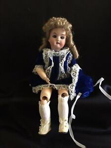 Antique-German-Bisque-Doll-12-250-12-o-Heubach-Koppelsdorf-TLC