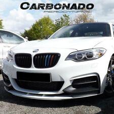 2014 w//Support Rods BMW F22//F23//230i//M235i//240i 2-Series Front Lip Splitter