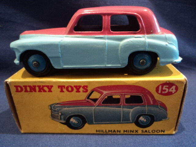 Dinky 1950's Very Rare Hillman Minx Saloon No  155 N MINT Ex Shop Stock