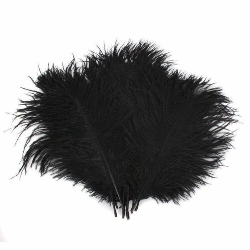 20pcs Fly Tying Materials Ostrich Herl Feathers Trout Fishing Bait Lure Streamer
