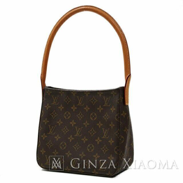 Louis Vuitton Monogram Looping Mm Shoulder Bag M51146 Fl0052 For Sale Online Ebay