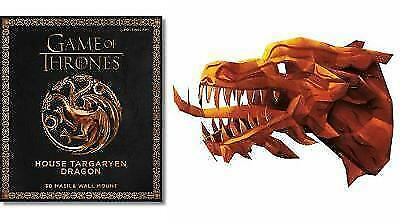 1 of 1 - Game of Thrones Mask: House Targaryen Dragon by Steve Wintercroft 9781780977775