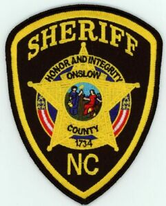 NORTH CAROLINA NC MACON COUNTY SHERIFF NEW PATCH POLICE