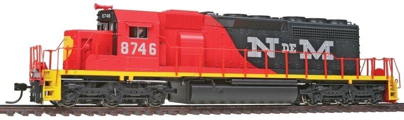 Traccia h0-DIESEL sd40-2 National Railways of Mexico con sound - 2282 NUOVO
