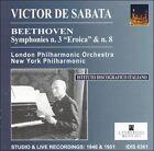 De Sabata Conducts Beethoven Symphonies Nos. 3 & 8 (CD, Jul-2002, IDIS)