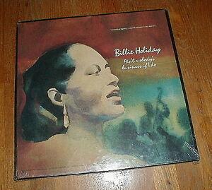Billie Holiday Aint Nobodys Business If I Do 4 Lp Box W Strange