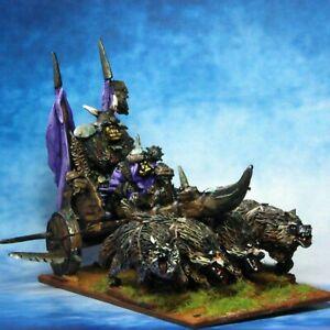 Orc-General-039-s-War-Chariot-Warhammer-Fantasy-Armies-28mm-Unpainted-Wargames