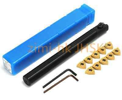 S20R MWLNR08 20*200mm Lathe Turning Tool Boring Bar Holder for WNMG0804