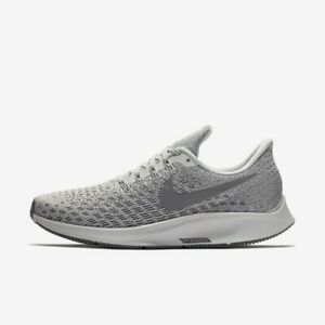 Nike-Air-Zoom-Pegasus-35-Phantom-Grey-White-942855-004-Women-039-s-Running-Shoes-NIB