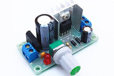 AC/ DC 5V-37V to DC 1.3-35V  LM317 Voltage Step-down Power Supply Module