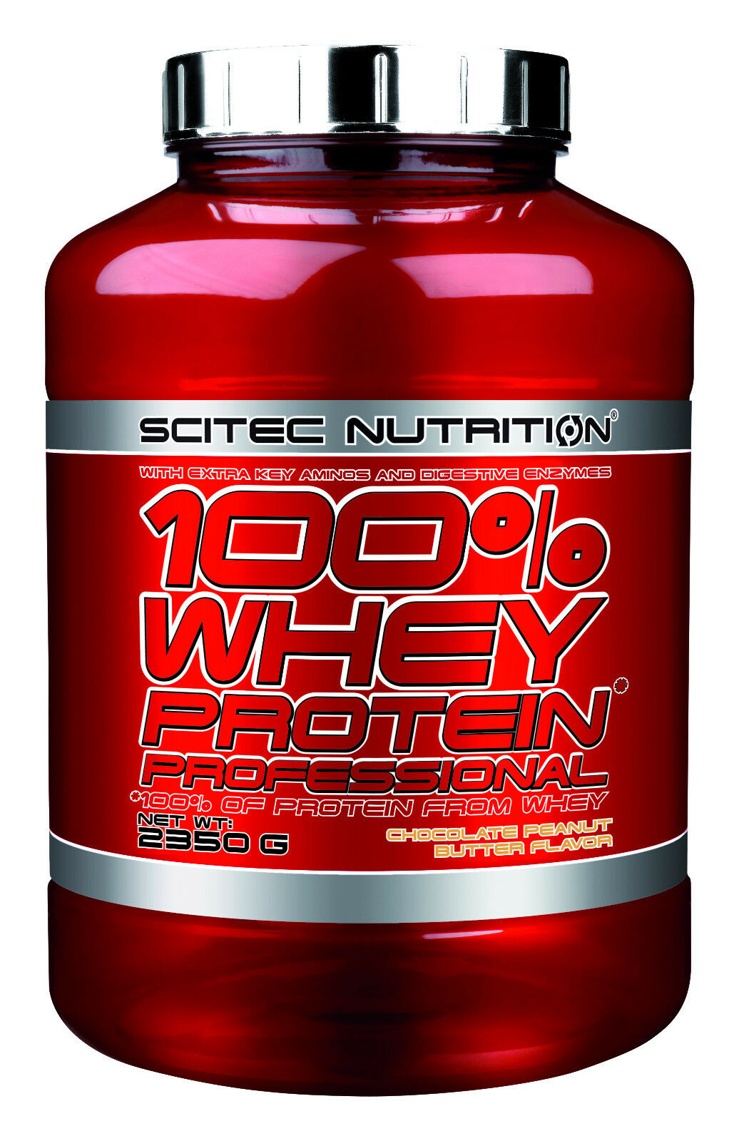 Scitec Nutrition Protein 100% Whey Protein Nutrition Prof. 2350g aus Molkenprotein + Isolate 0bf1ba