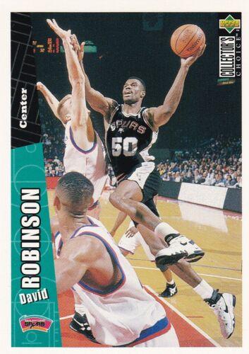 David robinson 1996//97 Collectors Choice baloncesto Walker