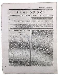 Nantes-1791-Eglise-Du-calvaire-Capucins-Emigre-Bruxelles-Rome-Italie-Royaliste